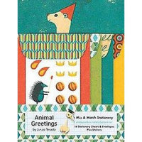 Animal Greetings Mix & Match Stationery (Cards)