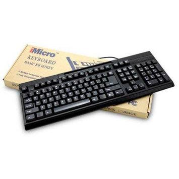 iMicro KB-US819EB Basic USB Keyboard Black