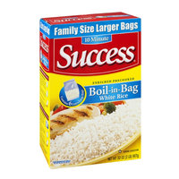 Success Boil-in-Bag White Rice - 6 CT