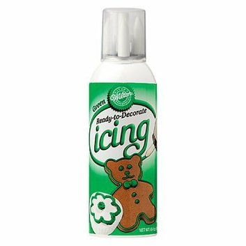 Wilton Ready-To-Decorate Green Icing - 6.4 oz.