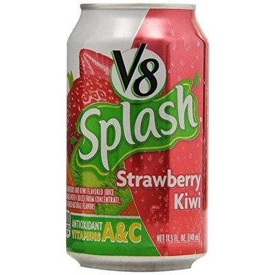 V8 Splash, Strawberry Kiwi, 11.5-Ounce Cans (Pack of 24)