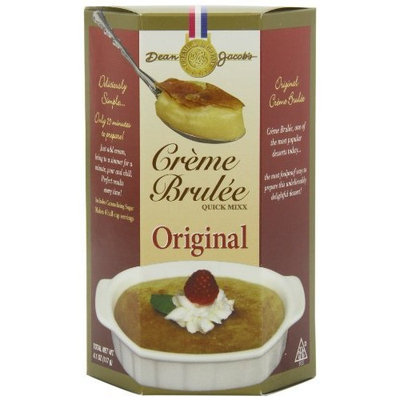 Dean Jacob's Dean Jacobs Creme Brulee Quick Mix, 4.1-Ounce (Pack of 12)