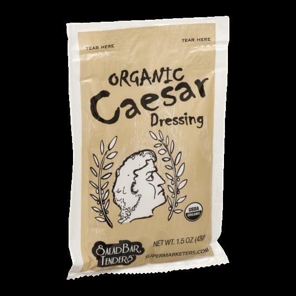 Salad Bar Tenders Dressing Organic Caesar
