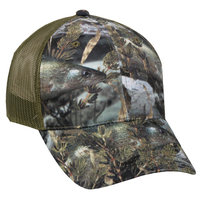 Outdoor Cap Fishouflage Camouflage Walleye Mesh Back Hat