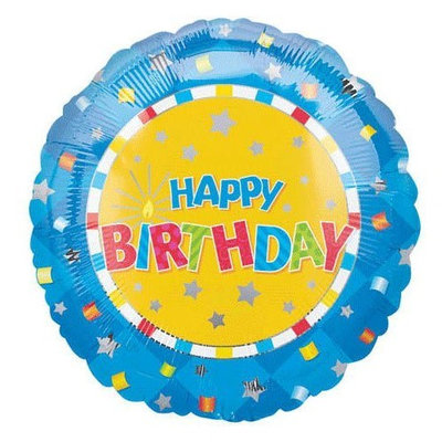 Anagram 18 Inch Happy Birthday Value Balloons