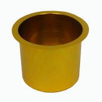 Trademark Commerce Trademark Poker Jumbo Aluminum GOLD Poker Table Cup Holder