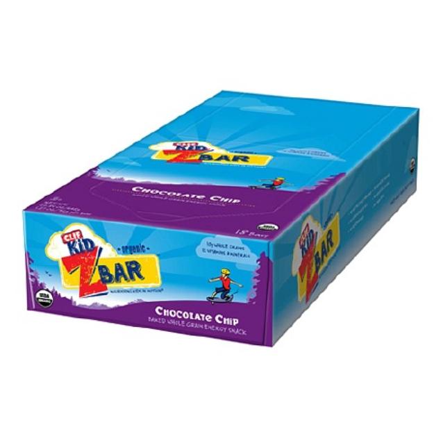 Clif Bar Kid Organic ZBar 18 pack Chocolate Chip
