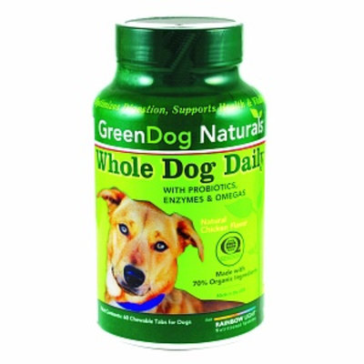 Green Dog Naturals Whole Dog Daily Chewable Tablets