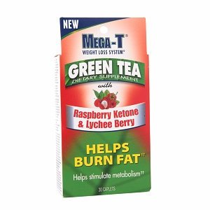 Mega-T Green Tea with Raspberry Ketone & Lychee