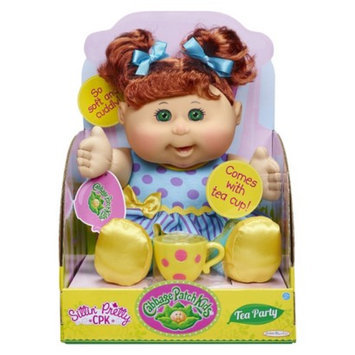 Cabbage Patch Kids Tea Party Toddler, Red Hair, Green Eyes, Caucasian