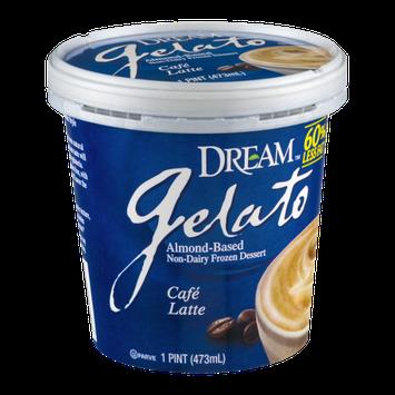 Dream Gelato Non-Dairy Frozen Dessert Cafe Latte