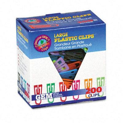 Advantus Paper Clips, Plastic, Large (1-3/8