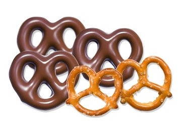 Albanese Confectionery Milk Chocolate Pretzels: 1 LB
