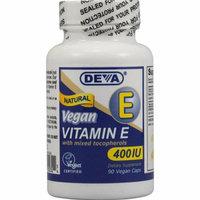 Deva Vegan Vitamins Deva Vegan Vitamin E with Mixed Tocopherols 400 IU 90 Vegan Capsules