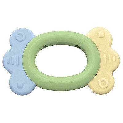 Cornstarch Ring Teether by Green Sprouts - Sage Green