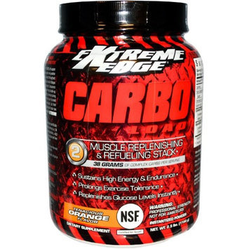 Extreme Edge Carbo Load Tenacious Orange Bluebonnet 2.5 lbs Powder