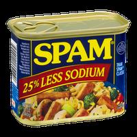 Spam 25% Less Sodium
