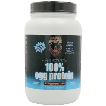 Healthy N' Fit Healthy 'n Fit 100% Egg Protein, Heavenly Chocolate, 2 lbsTub