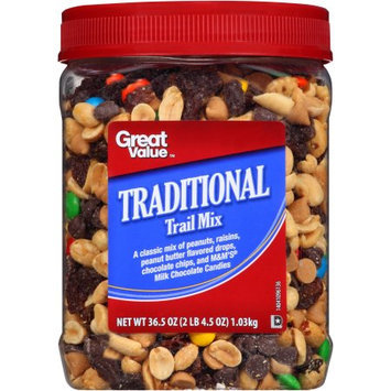 Great Value Traditional Trail Mix, 36.5 oz
