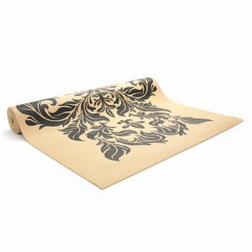 Gaiam Yoga Damask Print Yoga Mat