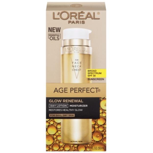 L'Oréal Paris Age Perfect Glow Renewal SPF 30 Lotion, 1.7 fl oz