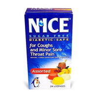 N' ICE NICE Assorted Flavors, 24-Count Boxes (Pack of 6)