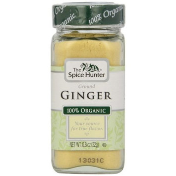 Spice Hunter Organic Ground Ginger, 0.8-Ounce Unit (Pack of 6)