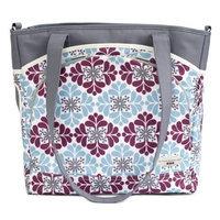 JJ Cole Mode Diaper Tote Bag, Black Magnolia (Discontinued by Manufacturer)