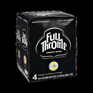 Full Throttle® Citrus Flavor Energy Drink
