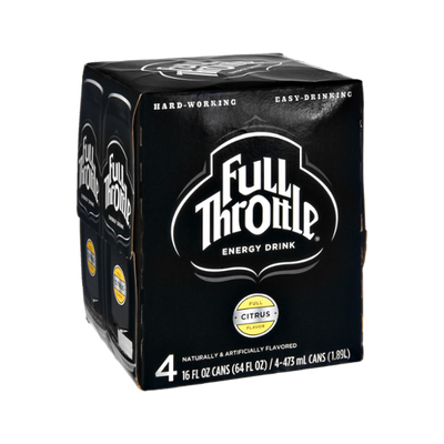 Full Throttle® Citrus Flavor Energy Drink