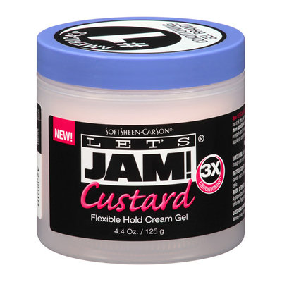 Let's Jam! Custard Flexible Hold Cream Gel