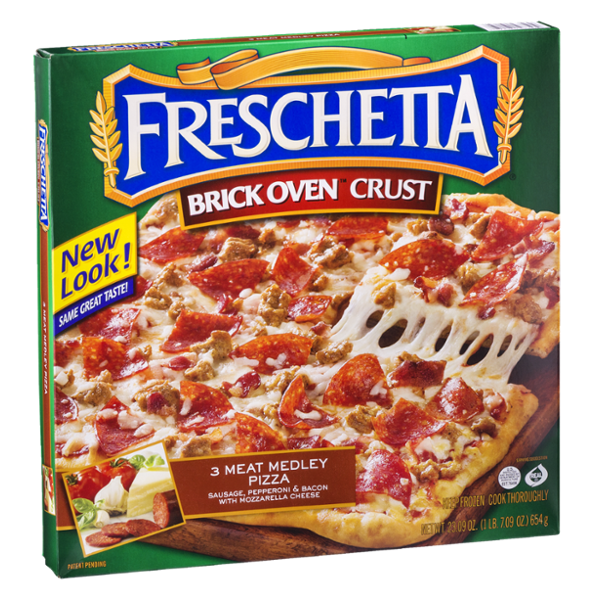 Freschetta Brick Oven Crust Pizza 3 Meat Medley Pizza
