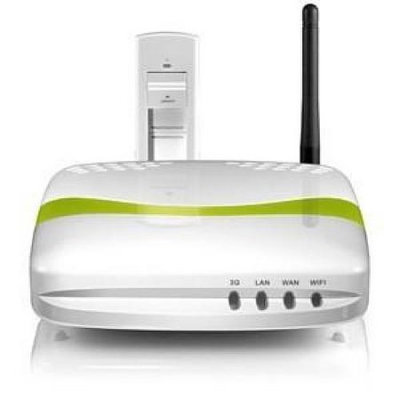 Aluratek - CDW530AM 3G Wireless USB Cellular Router