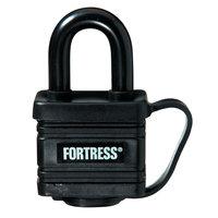 Master Lock 1804D 1-9/16 Black Weatherproof Padlock
