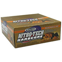 Nitro Tech Bar Peanut Butter Chocolate Chip Muscletech 12 Bars 1 Box