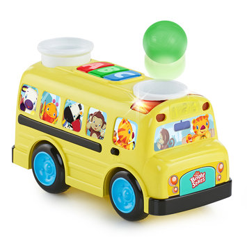 Bright Starts Having a Ball Roll & Pop School Bus - KIDS II, INC.