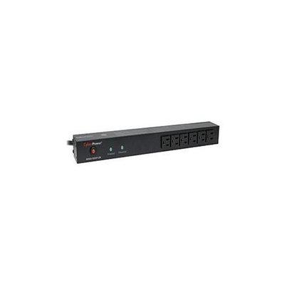 CyberPower Rackbar Surge Protection RKBS15S6F8R Zero-U/1U - Surge suppressor ( rack-mountable ) - AC 120 V - 14 output c