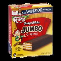 Keebler Fudge Sticks Jumbo Original