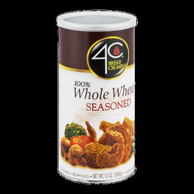 4C Breadcrumbs 100% Whole Wheat Seasoned