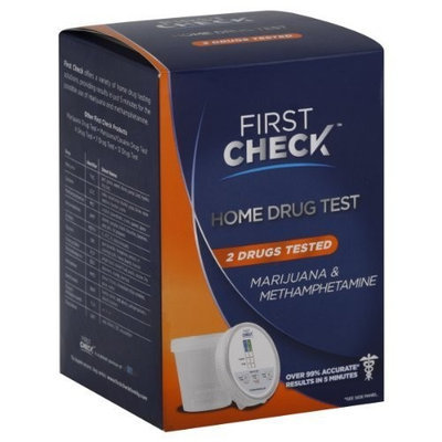 USHealthTests First Check HOME Drug Test -Marijuana & Methamphetamine Drug Test