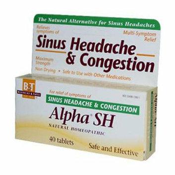 Boericke & Tafel Boericke and Tafel Alpha SH Sinus Headache 40 Tablets