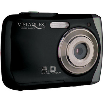 VistaQuest VQ-8920 Black 8MP Digital Camera, 2.4