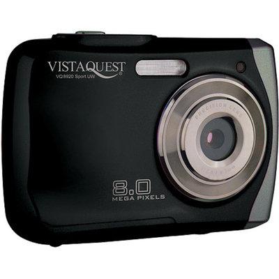 VistaQuest VQ-8920 Black 8MP Digital Camera, 2.4