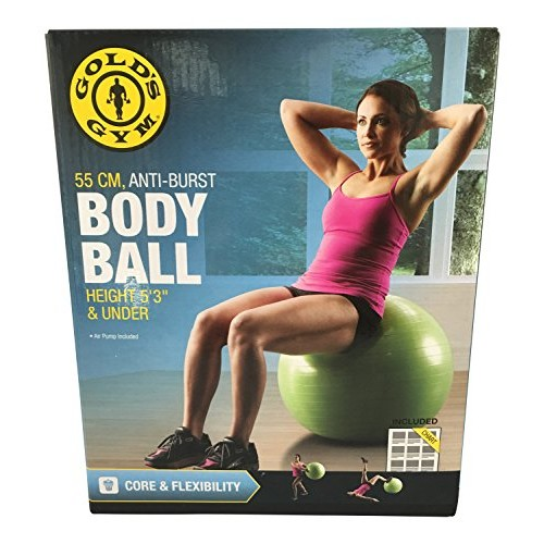 Golds Gym 55 CM Anti-Burst Body Ball