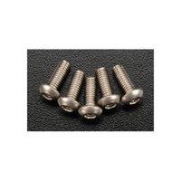 BHP308 Titanium Button Hex Screw M3x8 (5)