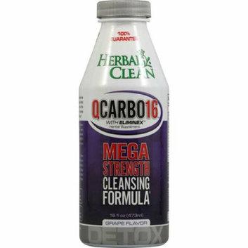 Bng Herbal Clean Qcarbo16 Mega Strength Grape 16 Fl Oz Reviews
