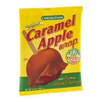 Concord Foods Caramel Apple Wrap - 5 CT