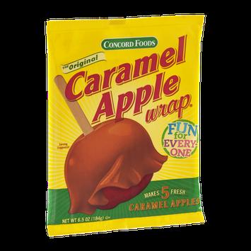 Concord Foods Caramel Apple Wrap - 5 CT
