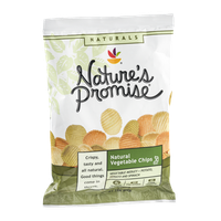 Nature's Promise Natural Vegetable Chips Vegetable Medley Potato, Tomato and Spinach