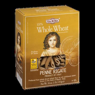 Gia Russa Whole Wheat Pasta Penne Rigate